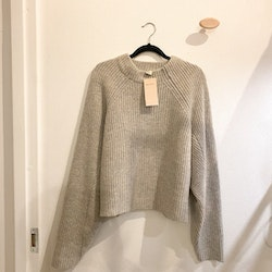 HM Wool Blend Grey Knit (38)