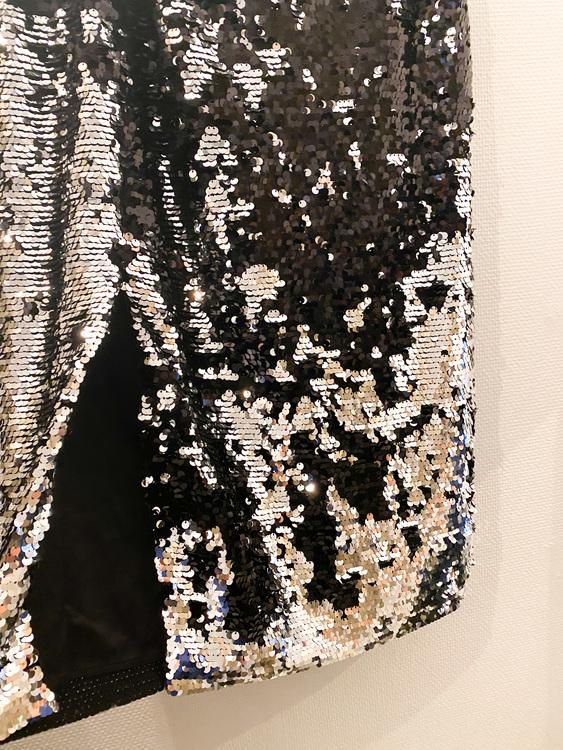 SAMSOE & SAMSOE Kelis Skirt Sequin (M)