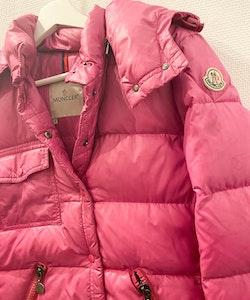 MONCLER Down Jacket Hot Pink (3)