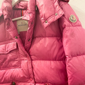 MONCLER Down Jacket Hot Pink (3)