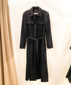 MAXMARA Wool/ Cashmere Long Coat (40)