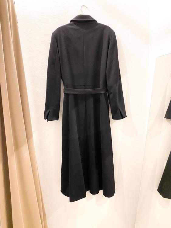 MAXMARA Wool/ Cashmere Long Coat (40)