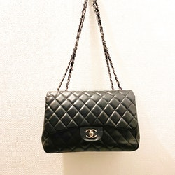CHANEL Classic Singel Flap Jumbo Bag Black