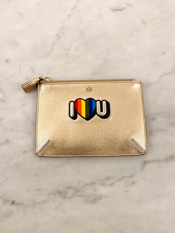 ANYA HINDMARCH Rainbow Make Up Bag Pouch