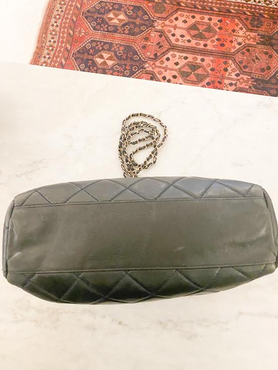 PRADA Leather Shopping Tote Vintage