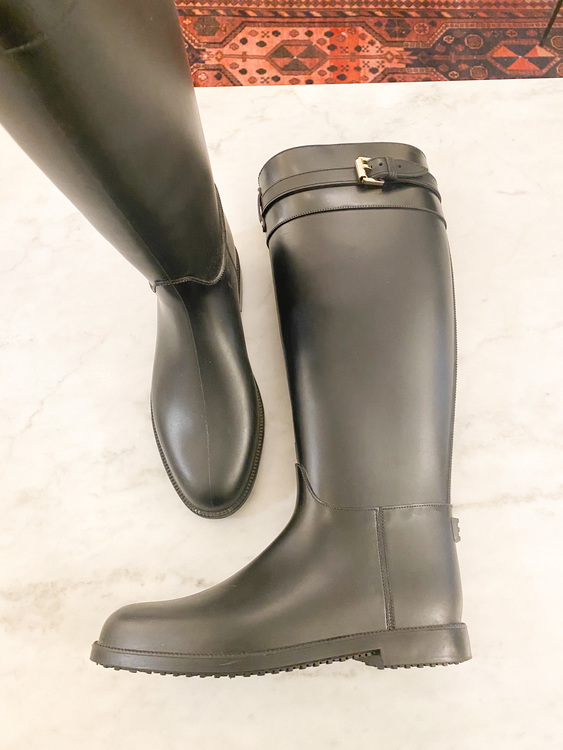 MULBERRY Rubber Boot / Gummistövel (38)