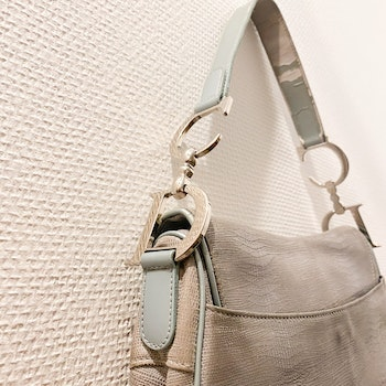 CHRISTIAN DIOR SADDLE LIZARD BAG