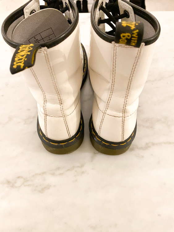 Dr.Martens AirWair Boots White (38)