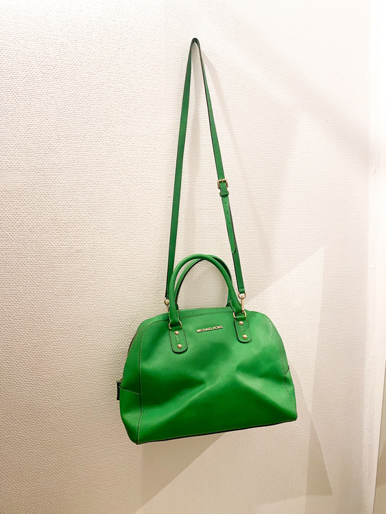 MICHAEL KORS Green Tote Bag