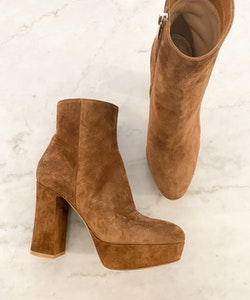 GIANVITO ROSSI Suede Boots (38)