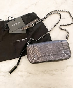JEROME DREYFUSS Bob Metallic Crossbody Bag