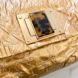 LOUIS VUITTON Limited Edition Gold Monogram Jacquard Altair Clutch Bag