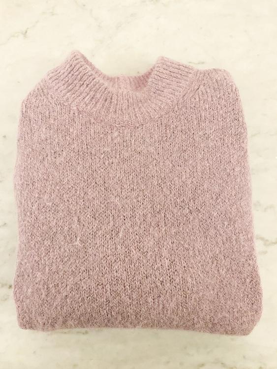 ARKET Alpaca Blend Purple Knit