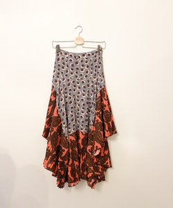STELLA McCARTNEY Silk Skirt (38/ EU34)