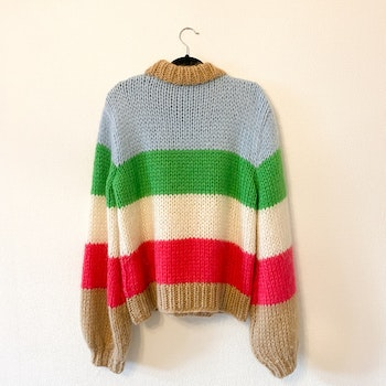 GANNI Julliard Mohair Sweater (L)