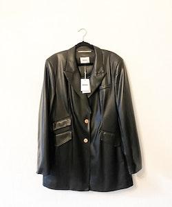 NANUSHKA Cancun Faux Leather Blazer (L)