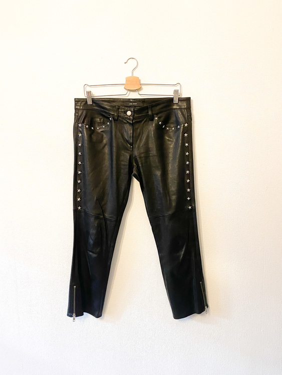 ISABEL MARANT Star Leather Pants (42)