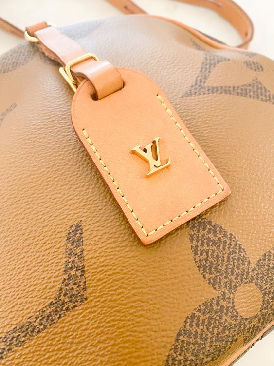 LOUIS VUITTON Boite Chapeau Souple Bag Limited Edition Reverse Monogram Giant