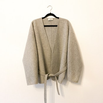 TOTÊME Lunel Cashmere/ Wool Wrap Jacket (Small)