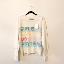 ZADIG & VOLTAIRE Girls Can Do Anything Sweater (M)