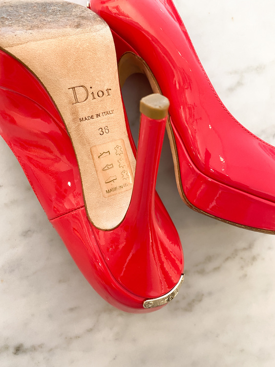 CHRISTIAN DIOR Pink Heels (36)