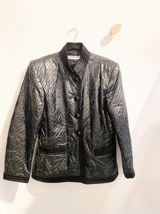 SAINT LAURENT Silk Blazer Jacket (FR42)