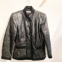 SAINT LAURENT Silk Blazer Jacket (FR42)