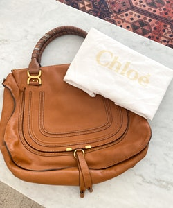 CHLOÉ Marcie Large leather tote