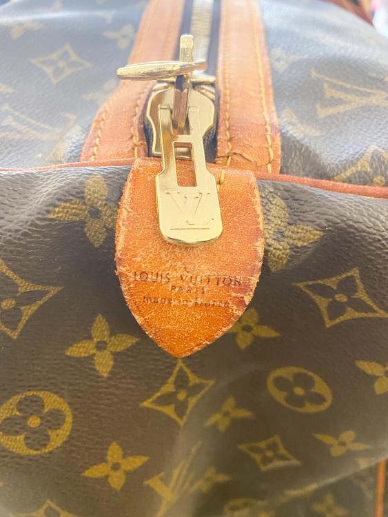 LOUIS VUITTON Sac Souple Weekendbag 55 Monogram