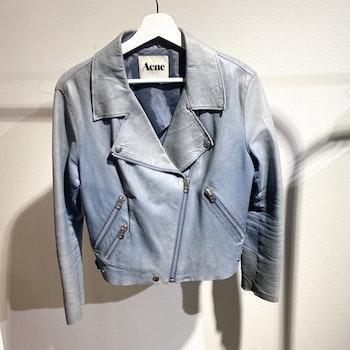 ACNE STUDIOS Rita Leather Jacket (36)