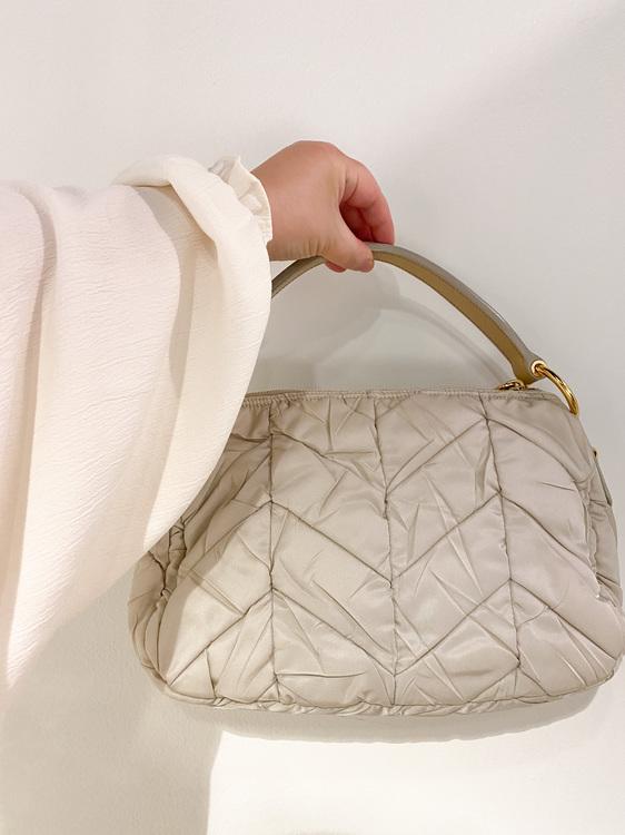 PRADA Tessuto Quiltin Nylon Bag