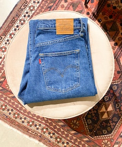 LEVIS Ribcage Straight Blue Jeans (31/27)