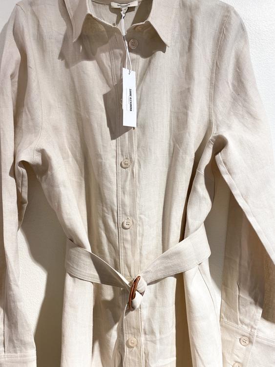 SANNE ALEXANDRA Linnen Dress New (L)