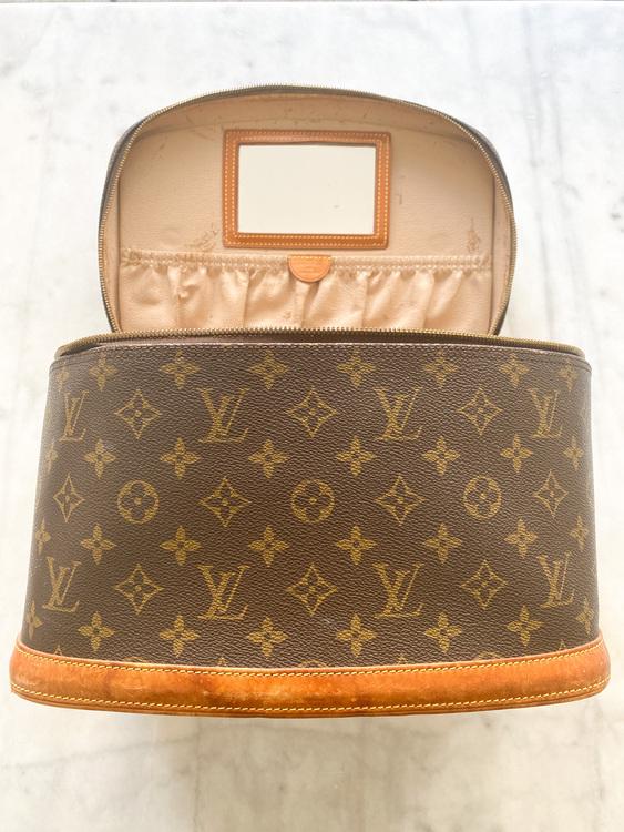 LOUIS VUITTON Nice Vanity Bag Vintage (Large)