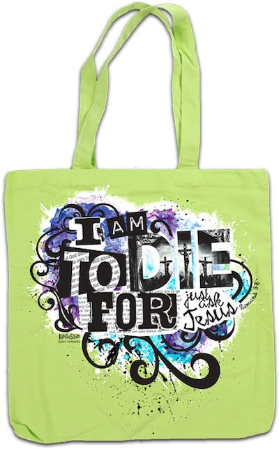 Canvas-bag - TO DIE FOR