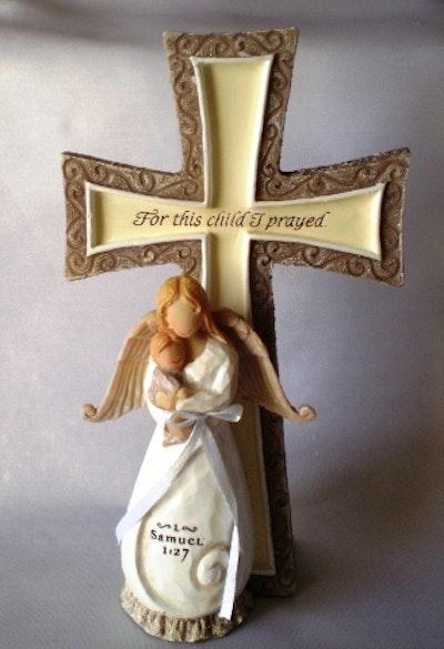 Present - Kors med ängel