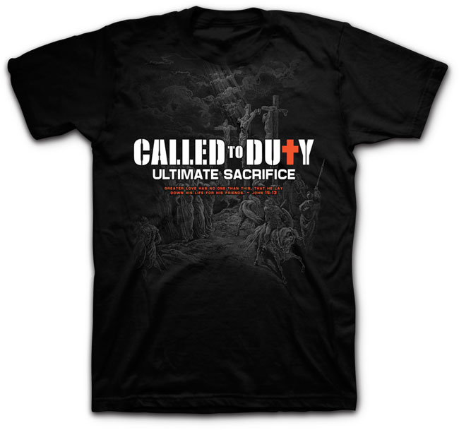 Tshirt - Called to Duty