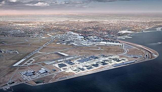 Fast delivery of chocks to Kastrup