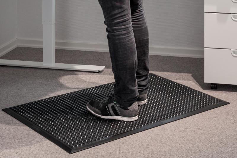 Ergonomic matt Pur-step