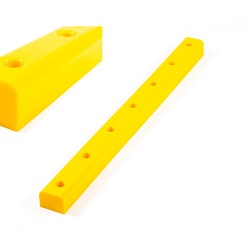 Pier-fender in solid polyurethane 80x1000mm