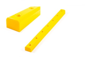 Pier-fender in solid polyurethane 40x1000mm