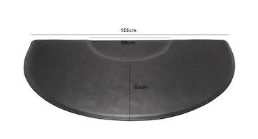 Work-step hairdresser Semicircle ergonomic mat