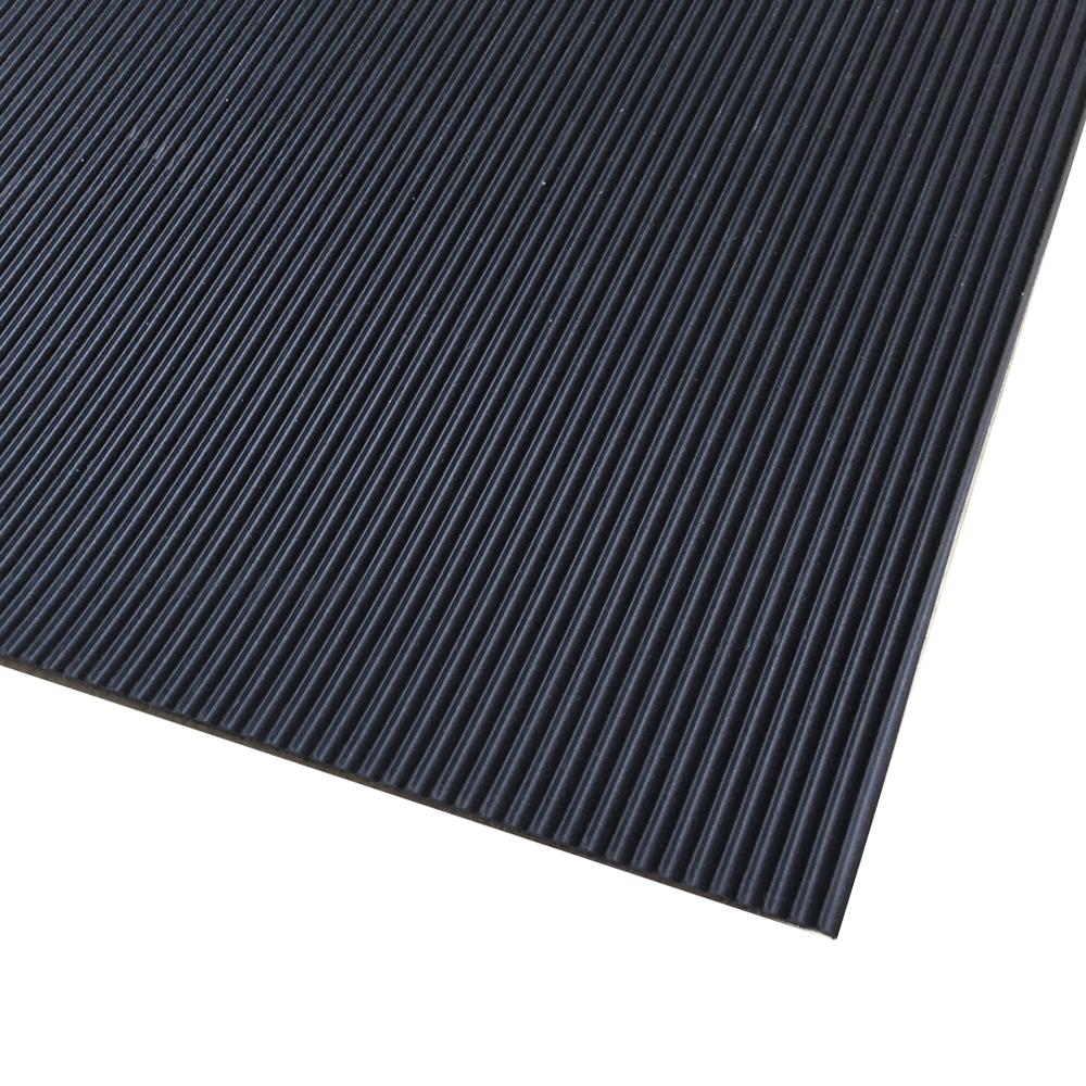 Slim Ribbed rubber sheet