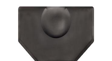 Soft-step hairdresser Rectangle ergonomic mat