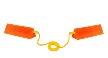 Mark 3 Ice widebody twin chock whith rope
