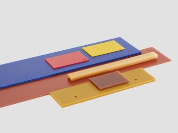 Polyurethane plates 1000×1000 70 shore A