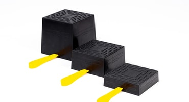 Power Pad 140x140x75 Universal to forklift trucks | stand stacker | axle stand