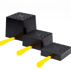 Power Pad 140x140x40 Universal to forklift trucks   stand stacker   axle stand