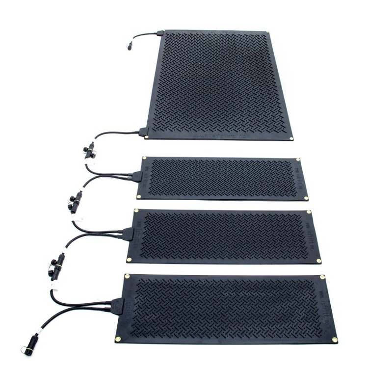 Heating mat different sizes Security with ice-free passages