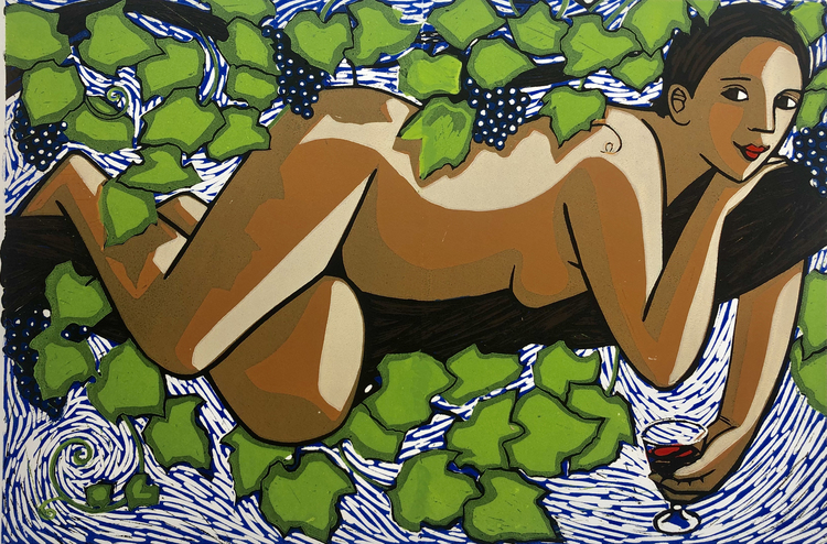 Godess of the Grape and Vine
